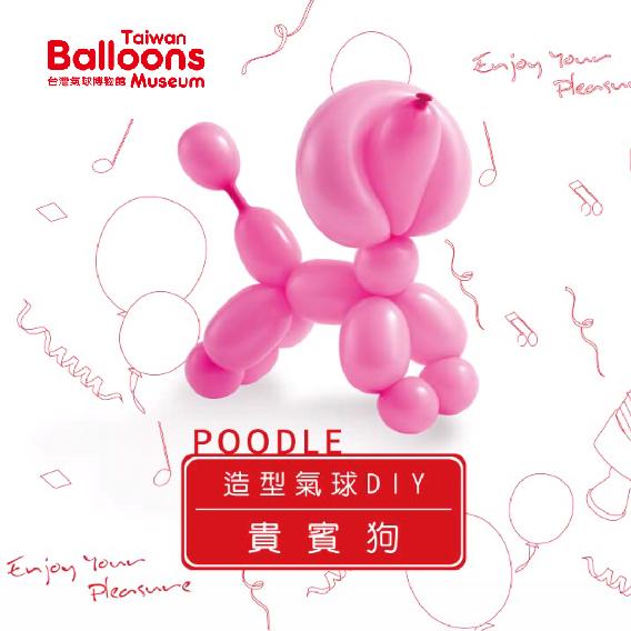 貴賓狗氣球DIY